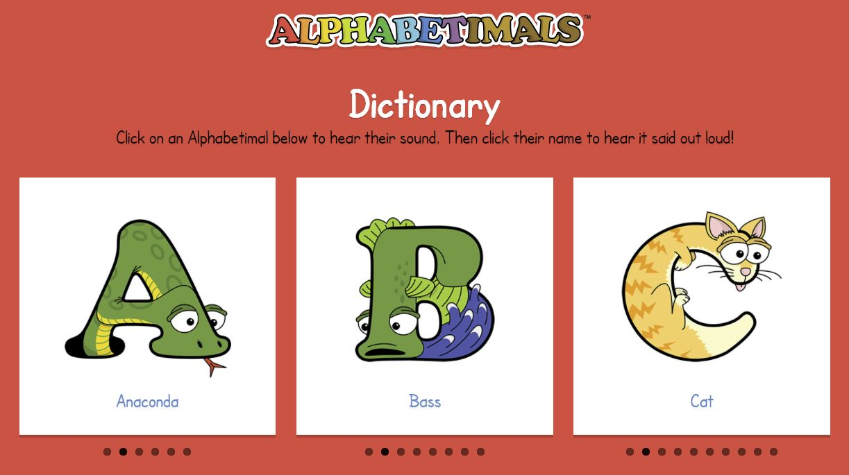 Alphabetimals Primaryedutech Com