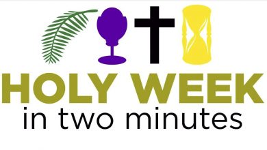 Photo of Holy Week in 2 minutes