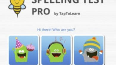 Photo of iPad App: Spelling Test Pro