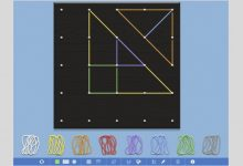 Photo of Geoboard