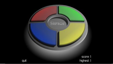 Photo of Simon Says Game for your Interactive Screen