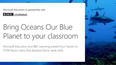Photo of Four STEM Lesson plans exploring aspects of our Oceans from Microsoft Education and BBC Learning