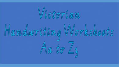 Photo of Victorian Handwriting Worksheets Aa to Zz